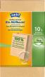 Papieren biologisch afbreekbare afvalzakken, 100% composteerbaar