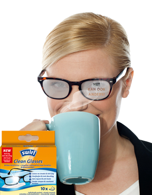 Swirl® brilpoetsdoekjes