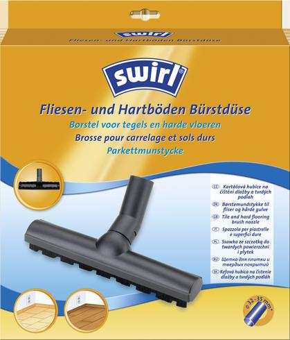 Swirl® Borstelzuigmond voor tegels en harde vloeren