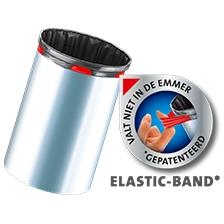Pedaalemmerzakken met elastische fixeerband