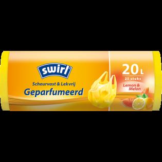 Geparfumeerde pedaalemmerzak met citroen-meloengeur