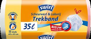 Scheurvast & Lekvrij met trekband